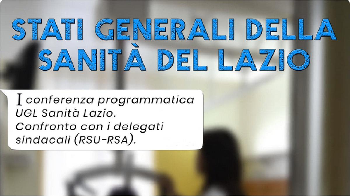 Stati Generali della Sanità del Lazio